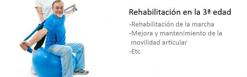 Rehabilitación en la 3ª edad