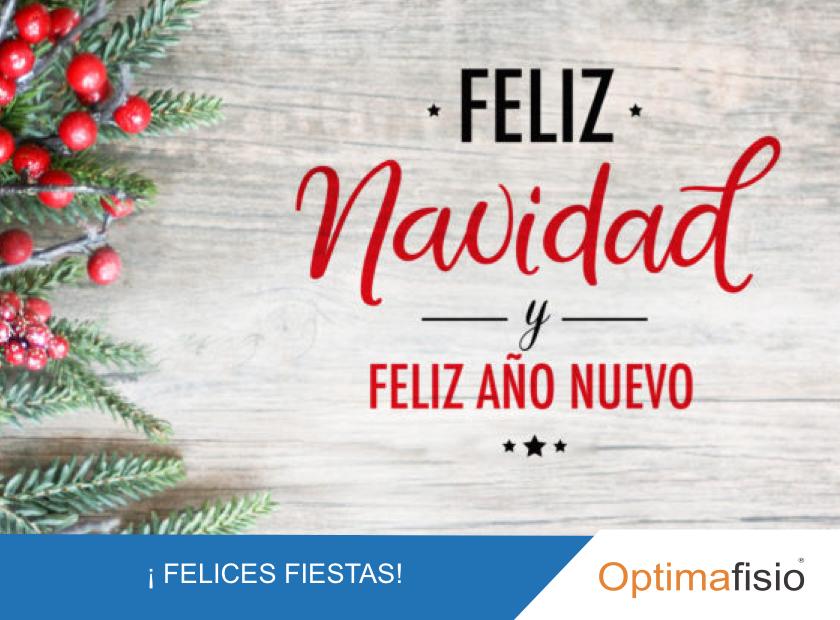 Optimafisio, felices fiestas y feliz año nuevo 2020